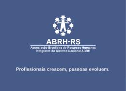 PRODUTOS ABRH-RS
