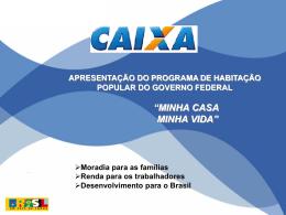renda familiar até 3 salários mínimos - Sinduscon-Rio
