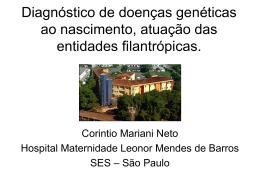 Casa Maternal e da Infância Leonor Mendes de Barros -1944