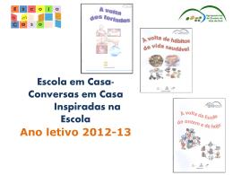 Avaliação do Projeto (2012/2013)