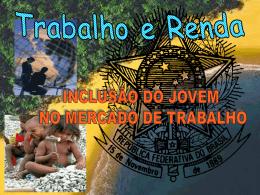TRABALHO E RENDA