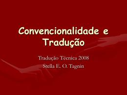 Convencionalidade e Tradução