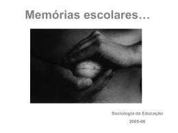 Recordações da Escola