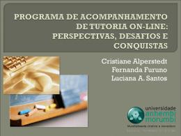 programa de acompanhamento de tutoria on-line