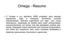 Vendas no Omega