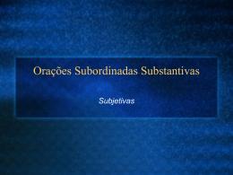 subjetivas