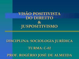 Visão Positivista do Direito