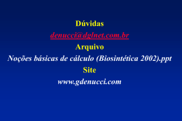 e = 1 - Gilberto De Nucci . com