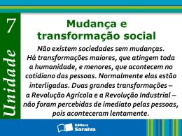 Mudança social e Sociologia Capítulo 21