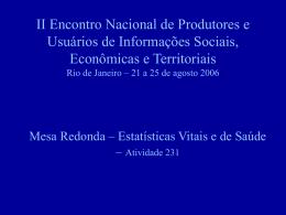 Rede Interagencial de Informações para Saúde - RIPSA