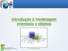 O que é modelagem orientada a objetos?