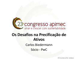 16h - Carlos Biedermann - PWC