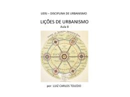 origens do urbanismo moderno