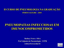 Pneumonias Virais