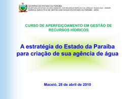 Laudizio - Oficina Agência de Água Maceió