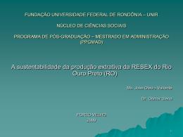 fundação universidade federal de rondõnia – unir núcleo de