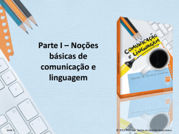 Capítulo 2 – Variação linguística e registro