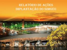 Campo Grande - Implantação do SIMGEO