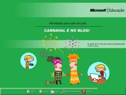 carnaval é no blog!