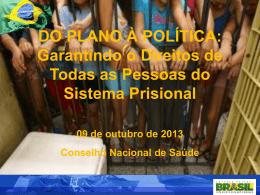 sistema penitenciario brasileiro