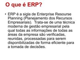 Material Extra de ERP, CRM, BI