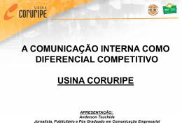 A COMUNICAÇÃO INTERNA COMO DIFERENCIAL COMPETITIVO