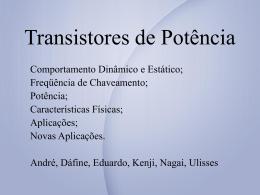 Transistor Bipolar de Potência