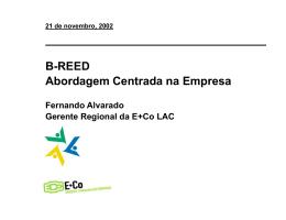 E+Co - B-REED