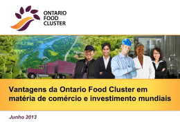 The Ontario Food Cluster