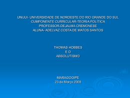 UNIJUI- UNIVERSIDADE DE NOROESTE DO RIO GRANDE DO