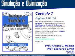 Cap_7_Otimiz - Modelagem e Simulação