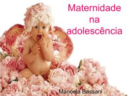 Maternidade na adolescência