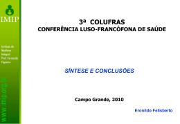 Eronildo - Síntese e conclusões
