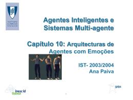 Capítulo 10 - Agentes com Emoções