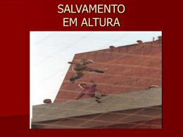 SALVAMENTO EM ALTURA