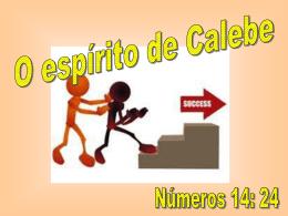O espírito de Calebe