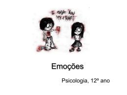Emoções e sentimentos