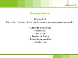 Balanço Social - ADM