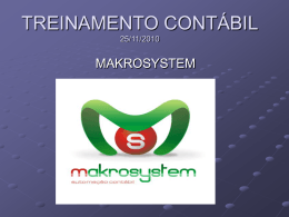 Treinamento - Makrosystem