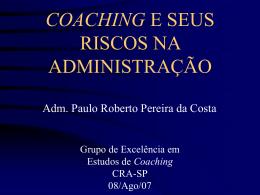 Coaching - prp_Coaching® - Executivo, Empresarial, Foco em