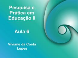 Pesquisa e Prática em Educação II