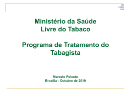 Programa MS Sem tabaco MPOG SPOA