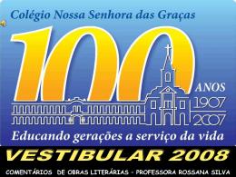 DOMINGO OLÍMPIO - Colégio Nossa Senhora das Graças