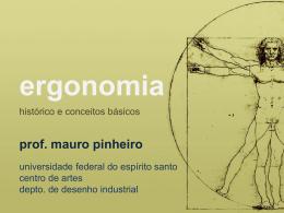 ergonomia - feira moderna · mauro pinheiro