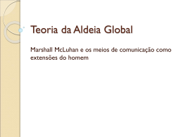 Teoria da Aldeia Global