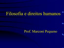 Filosofia dos direitos humanos II