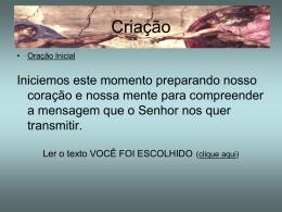 encontro03bCriacao_1 - Santuário Divino Espírito Santo