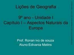 Geografia Homem & Espaço 9º ano - Unidade II - eezp