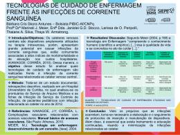 TECNOLOGIAS DE CUIDADO DE ENFERMAGEM