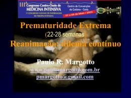 Prematuridade Extrema (22-28 semanas)